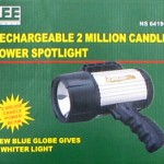 Rechargeable Spotlight
