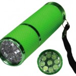 LED Flashlight Glow-in-the-Dark