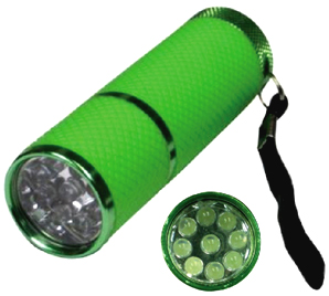 LED Flashlight Glow-in-the-Dark