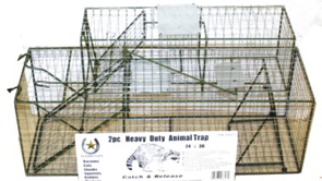 2pc Animal Trap Set